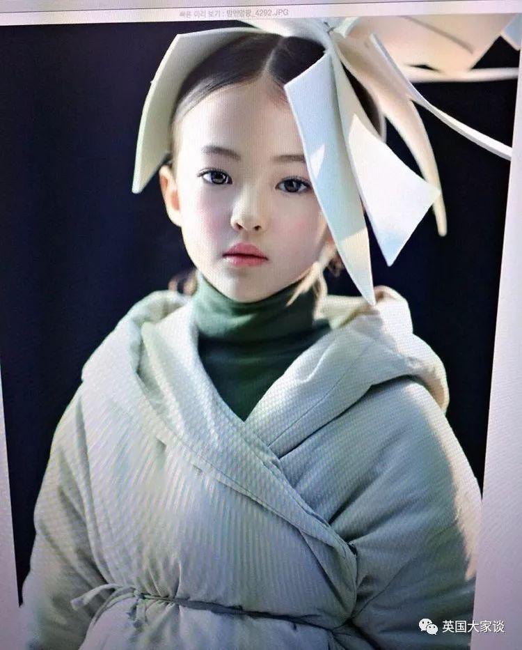 全球最迷人儿童模特ella gross,8岁就拍过无数大牌,气场是这么炼成的